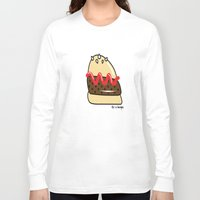 burger Long Sleeve T-shirts featuring Burger  by shoobox illustrations
