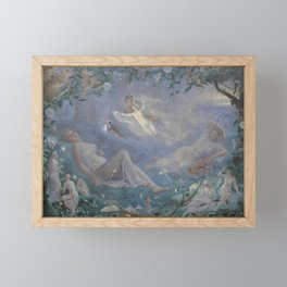John Simmons Scene From A Midsummer Night's Dream Framed Mini Art Print