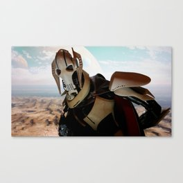 THE DROID LEADER Canvas Print