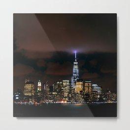 New York Skyline Metal Print