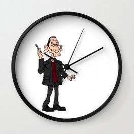 9th Doctor Wall Clock