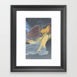Monster of the Sky Framed Art Print