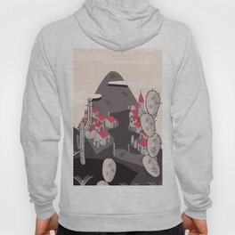 Small Town on the hillside Hoody