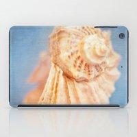 seashell iPad Cases featuring Seashell by The Last Sparrow