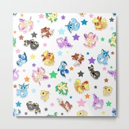 Cuties In The Stars Metal Print