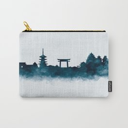 Kyoto Skyline Carry-All Pouch