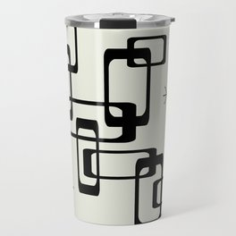Atomic Era Minimalism Travel Mug
