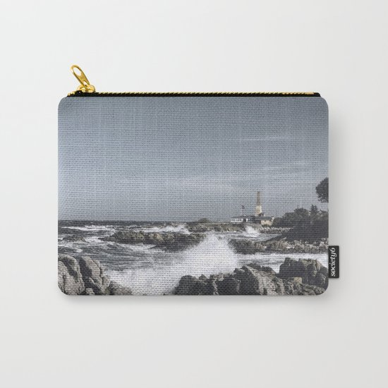 The wild sea- Wild waves o stormy day Carry-All Pouch