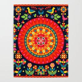 Wayuu Tapestry - I Poster