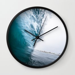 Beautiful Wave Crash Wall Clock