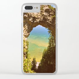 Eye of The Arch Clear iPhone Case