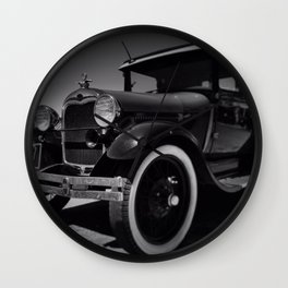 the good old days Wall Clock