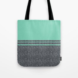 Lucite Green Dots Tote Bag