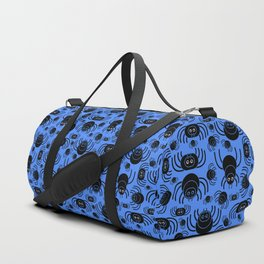Spiders Pattern (Blue) Duffle Bag