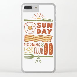 The Club Clear iPhone Case