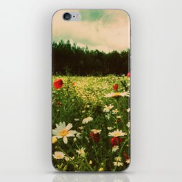 Poppies in Pilling iPhone Skin