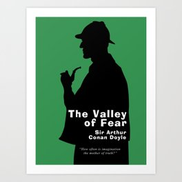 The Valley of Fear - Sherlock Holmes Art Print