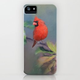 Cardinal Morning iPhone Case