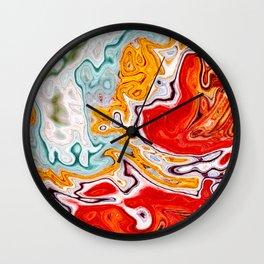 Marbled XV Wall Clock