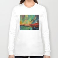 aurora Long Sleeve T-shirts featuring Aurora by Michael Creese