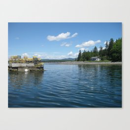 Boating Canvas Print