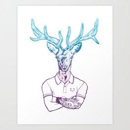 bambi's a grown up now  Art Print