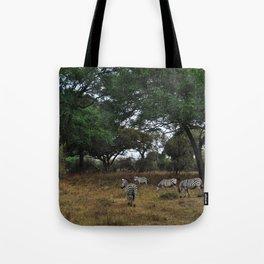 Zebras. Tote Bag