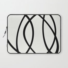 Community - Black and white abstract Laptop Sleeve