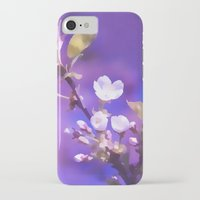 cherry blossoms iPhone & iPod Cases featuring CHERRY BLOSSOMS by VIAINA