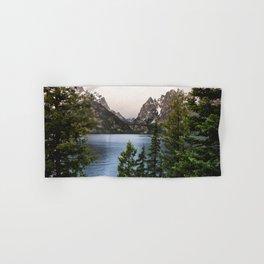 Grand Teton Wanderlust Lake Adventure - Nature Photography Hand & Bath Towel