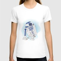 r2d2 T-shirts featuring R2D2 by Lalu ilustración
