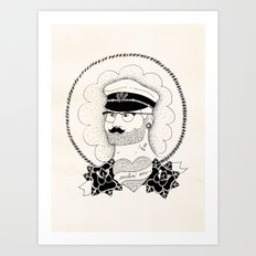 Sailin' on Art Print