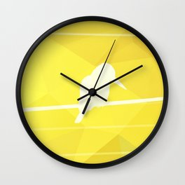 Still Lost in Thought Wall Clock