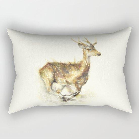 Run Away Rectangular Pillow