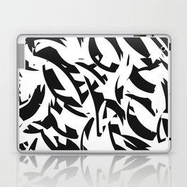 addicted to black & white Laptop & iPad Skin