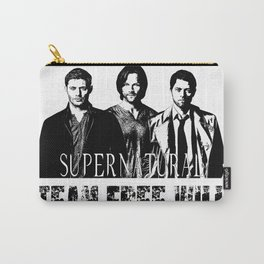 Supernatural Team Free Will W Carry-All Pouch