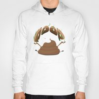 poop Hoodies featuring Poop by Slemdawg Hundredaire