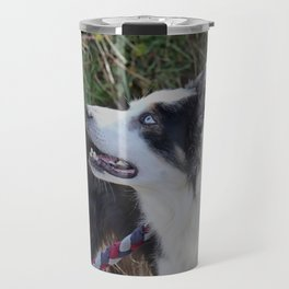 Collie Sheep Dog Travel Mug