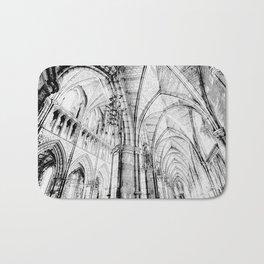 Southwark  Cathedral London Sketch Bath Mat