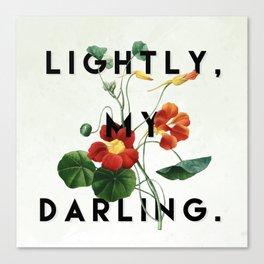 Lightly Canvas Print
