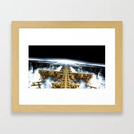 Our Cities Have Eroded Into Waterfalls Framed Art Print