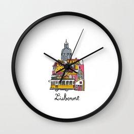 Lisbonne Wall Clock
