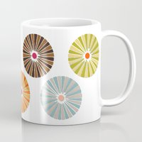 carousel Mugs featuring carousel by Sharon Turner