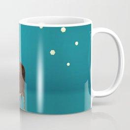 Low Poly Reindeer Coffee Mug