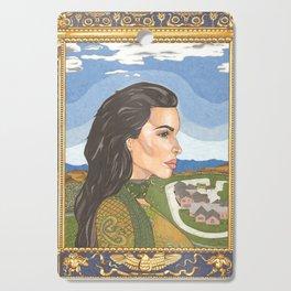 The Duchess of Calabasas Cutting Board