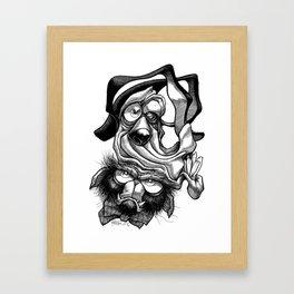 Chump & Grump Framed Art Print