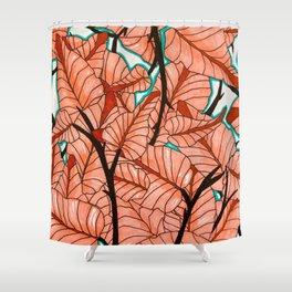 Maha Palm Shower Curtain