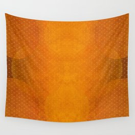 """Sabana Sunset Light Polka Dots"" Wall Tapestry"