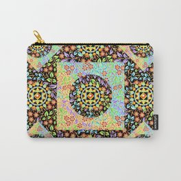 Filigree Floral Patchwork (printed) Carry-All Pouch