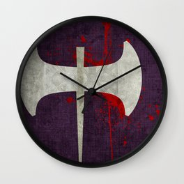 Axe Wall Clock